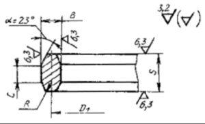 Конструкция восьмиугольной прокладки