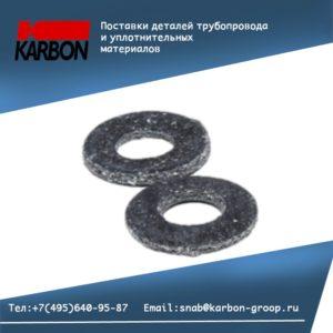 Прокладка плоская к фланцу по ГОСТ 28759; Ду 400, Ру 6 кгс/см2
