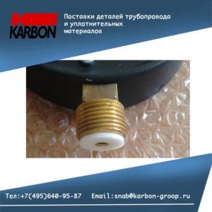 Применение фотопластовых прокладок под монометры